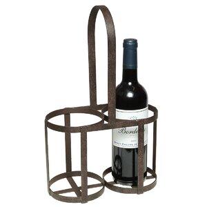 Weinflaschenhalter für 2 Fl. von Ambiente Haus