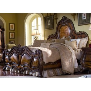 Chateau Beauvais Panel Bed by Michael Amini (AICO)