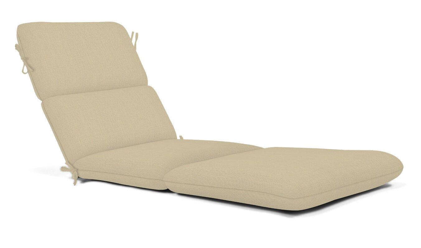 Wildon Home Outdoor Sunbrella Chaise Lounge Cushion & Reviews
