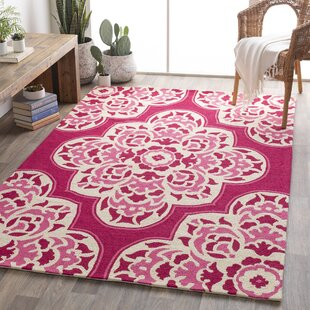 Floral Plant Pink Area Rugs You Ll Love Wayfair