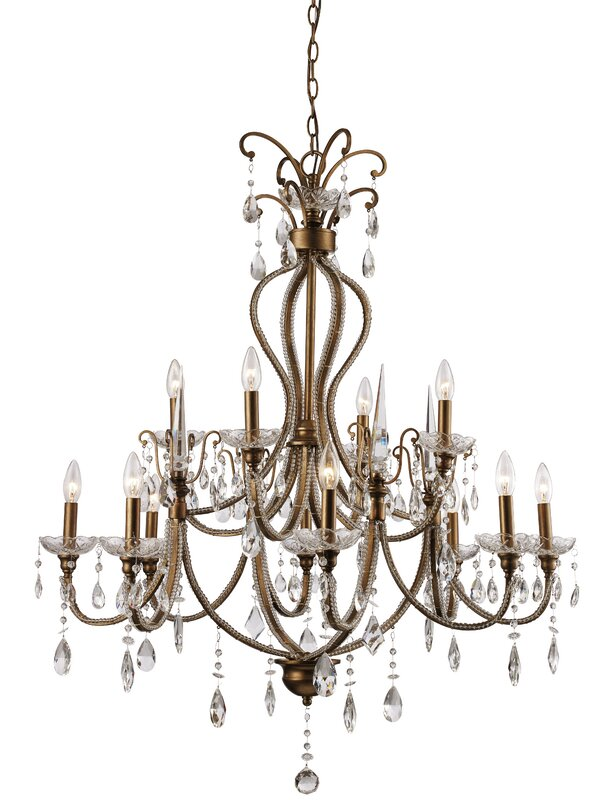Crystal Chandelier Idea For Laundry Room