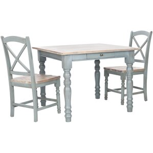 Swansea Dining Table by Beachcrest Home
