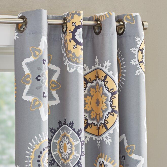 12 Pretty Floral Curtains & Drapes | Wayfair