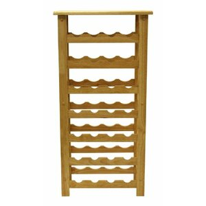 28 Bottle Floor Wine Rack
