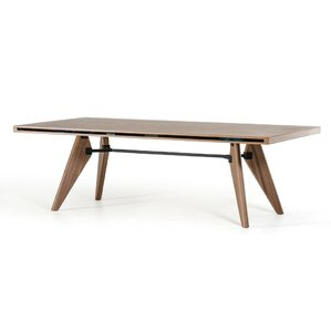 Akan Walnut Dining Table by Corrigan Studio