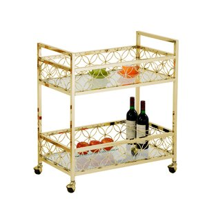 Maone Rolling Bar Cart