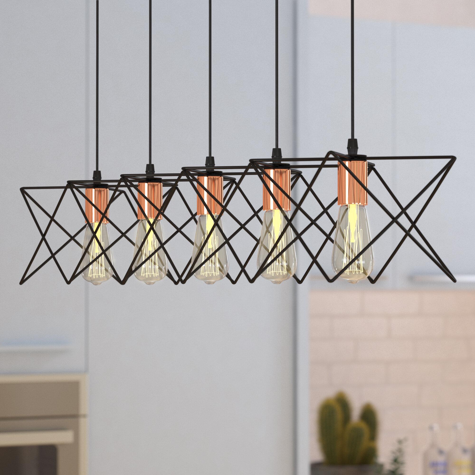 Trent Austin Design Amdt 5-Light LED Pendant & Reviews | Wayfair
