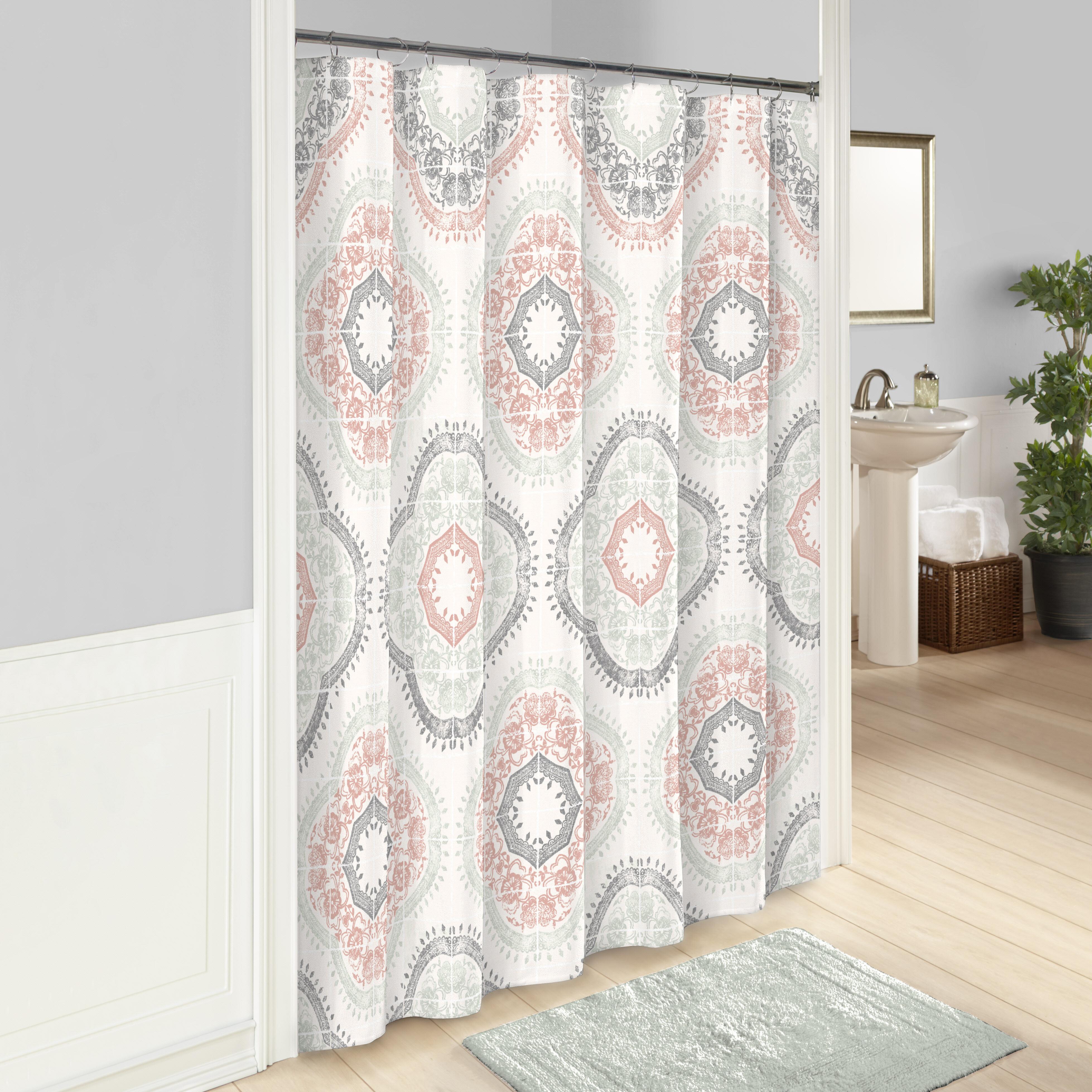 Charlton Home Fairfield 100 Cotton Shower Curtain Reviews