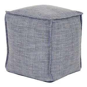 Piermont Square Pouf Ottoman by Bay Isle Home