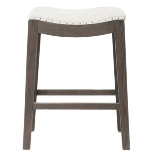Duncombe Elevated Upholstered 27 Bar Stool
