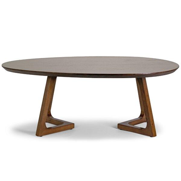 Glamour Home Decor Ailsa Irregular Oval Coffee Table U0026 Reviews   Wayfair