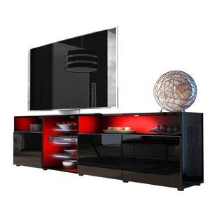 Tv cabinet with glass doors wayfair save to idea board planetlyrics Choice Image
