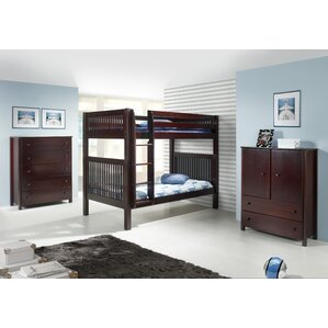 Oakwood Full Standard Bed Configurable Bedroom Set by Harriet Bee