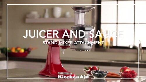 Kitchenaid Juicer And Sauce Attachment Ksm1ja Reviews Wayfair