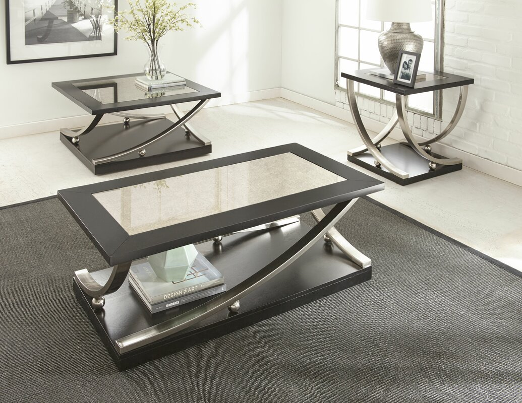 3 Piece Coffee Table Best Home Design 2018