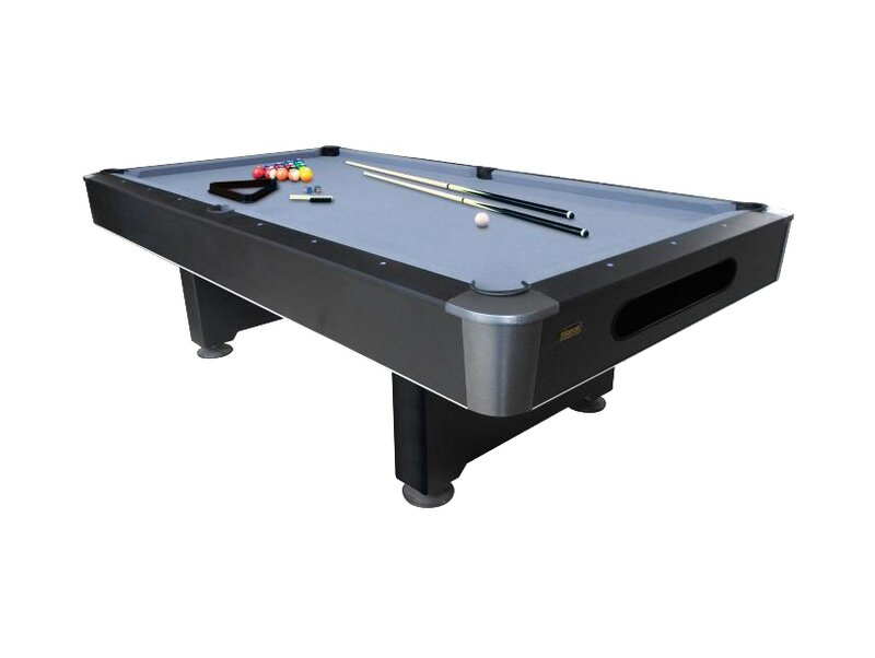 Mizerak Dakota Brs Slatron 8 Slate Pool Table Reviews Wayfair
