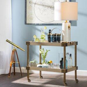 Audubon Bar Cart by Beachcrest Home