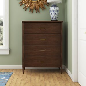 Honor 4 Drawer Chest by Da..