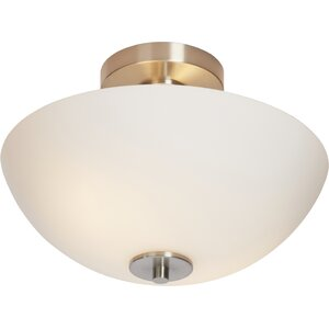 Listermann 1-Light Semi-Flush Mount