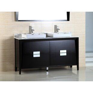Double Vanity With Vessel Sink Wayfair