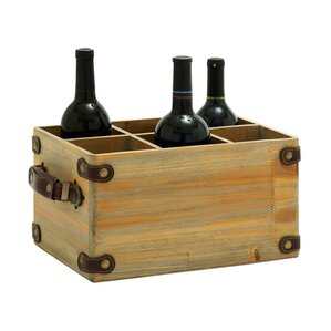 6 Bottle Tabletop Wine Rack by ABC Home Collection