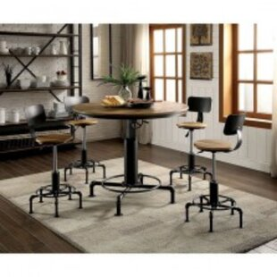 Keating 5 Piece Solid Wood Dining Set