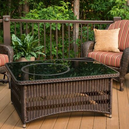 Bayou Breeze Laforce Coffee Table With Fire Pit Table Reviews