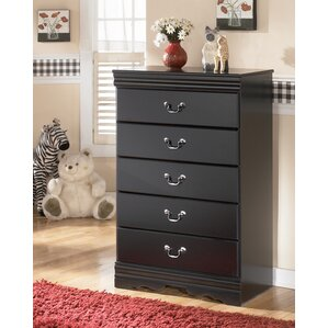 Carpenter 5 Drawer Chest by Three Posts