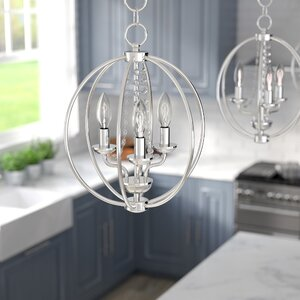 Artus 3-Light Globe Pendant