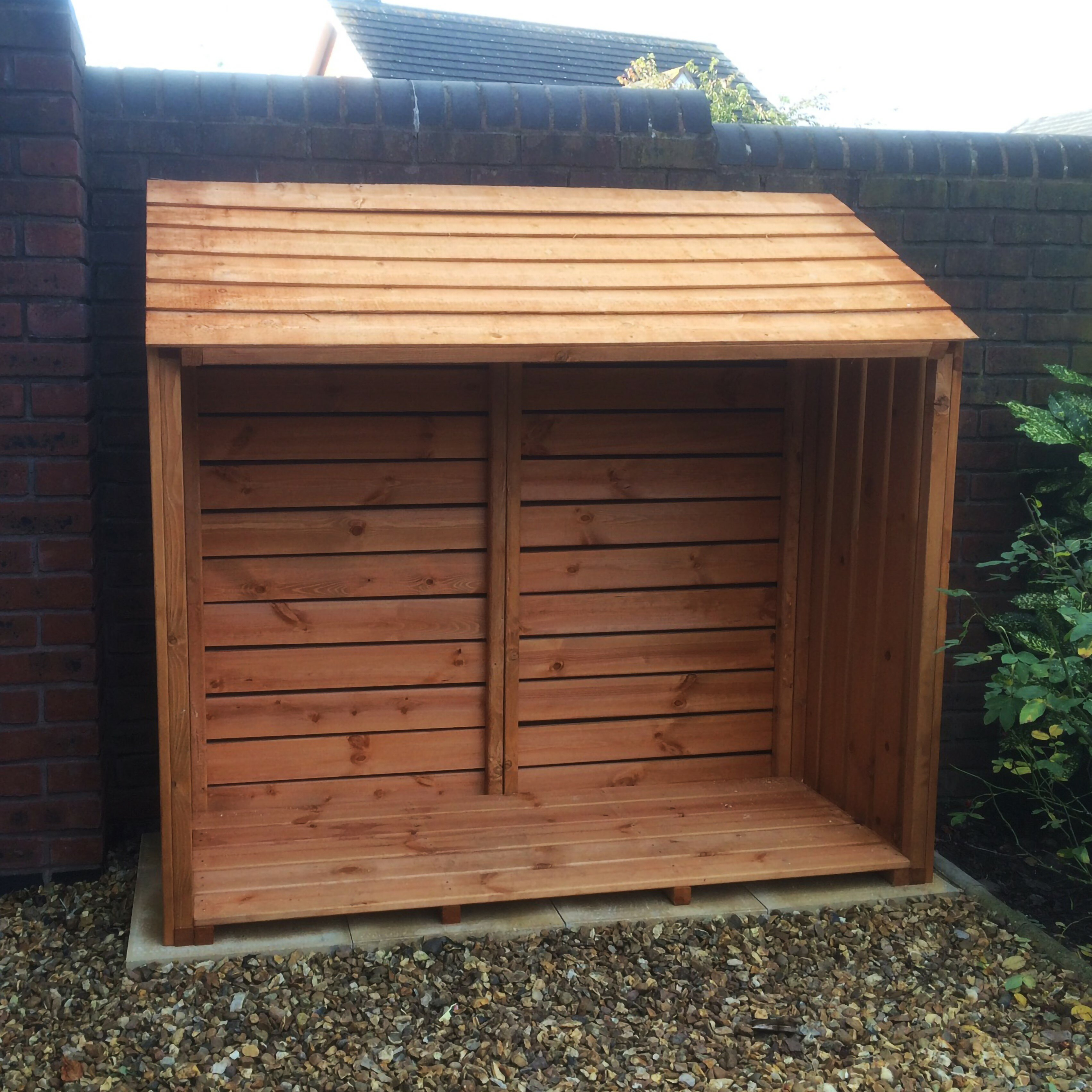 5ft x 2ft Wood Log Store