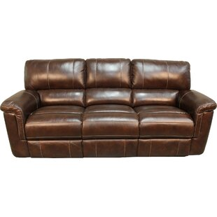Leather Reclining Sofas You\'ll Love   Wayfair