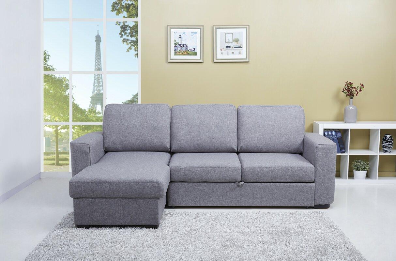 Leader Lifestyle Ronny Corner Sofa Bed & Reviews