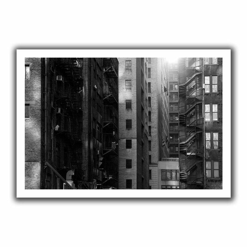 Buildings' by John Black Photographic Print on Rolled Canvas