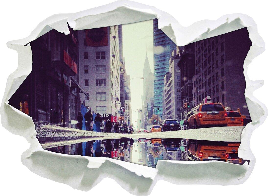 Geräumig Wandtattoo New York Foto Von Times Square