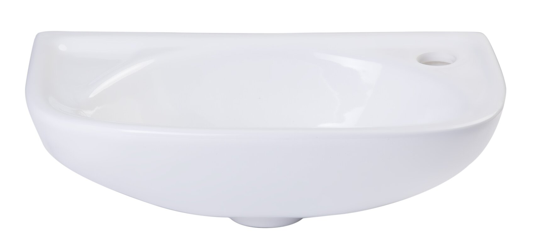 Small wall mounted bathroom sinks - Small 16 Wall Mount Bathroom Sink