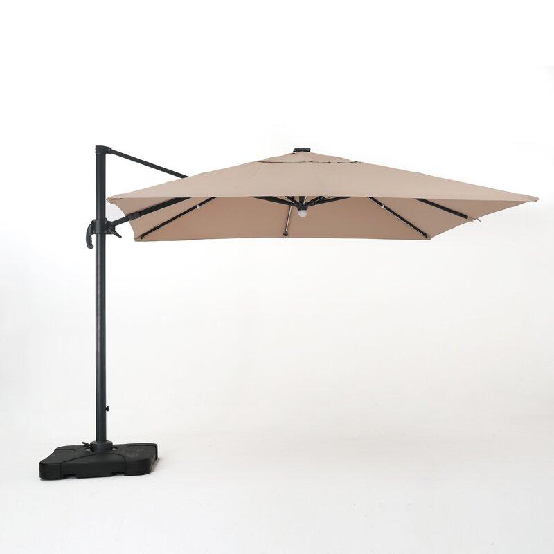 Jendayi 9 5 Square Cantilever Umbrella