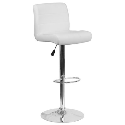 Leather White Bar Stools You Ll Love Wayfair