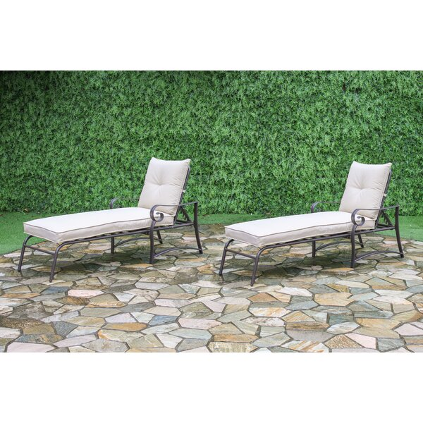 Tony Outdoor Garden Chaise Lounge U0026 Reviews | Wayfair