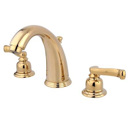 Bathroom Faucet Brass kingston brass royale double handle widespread bathroom faucet