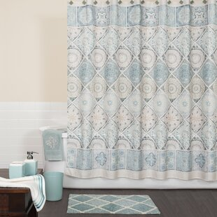 teal and gray shower curtain. Modena Shower Curtain Gray And Aqua  Wayfair