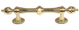 Ornate 4″ Center Bar Pull