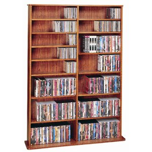 Conners  Multimedia Storage Rack by Charlton..