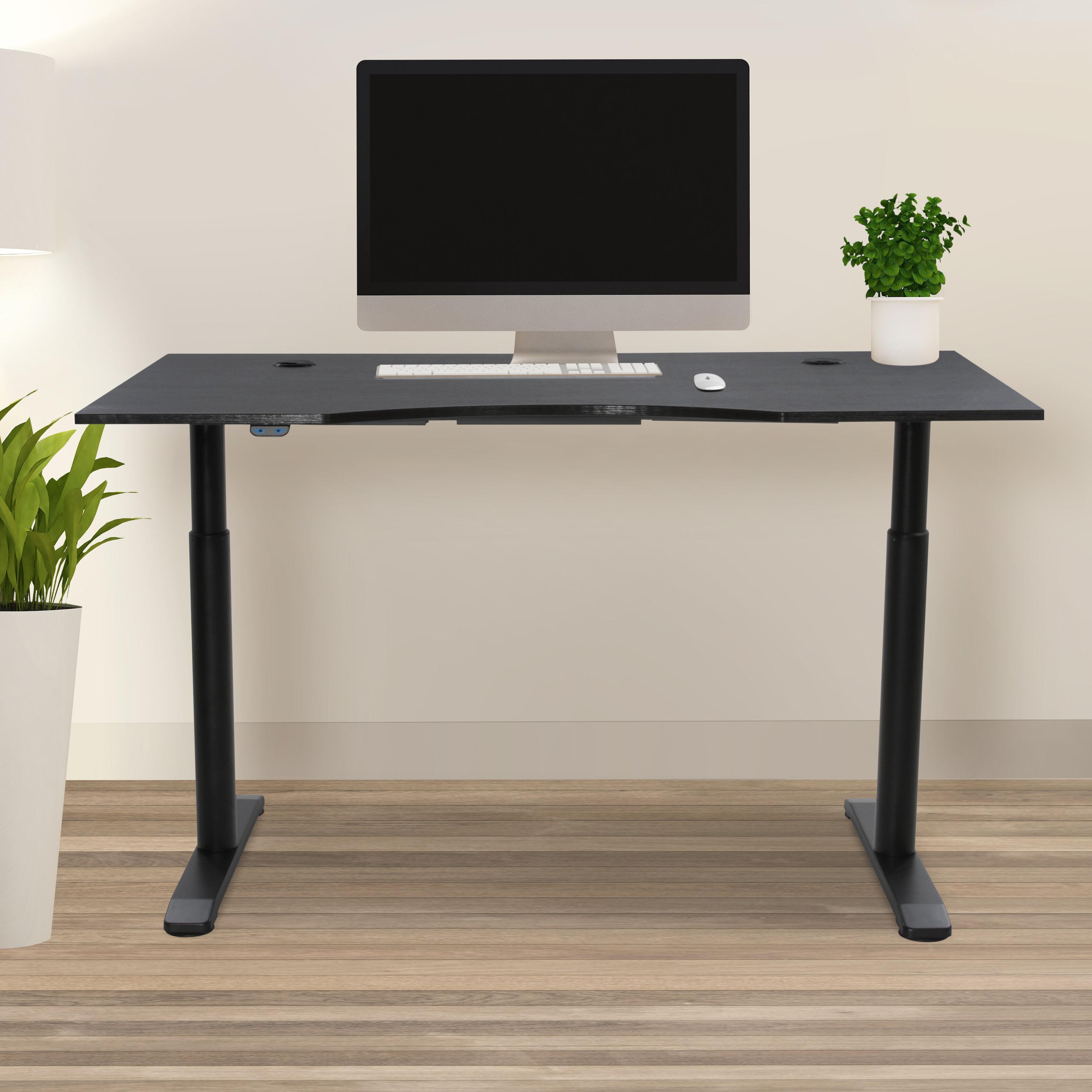 Haaken Furniture Pro X Height Adjustable Standing Desk Wayfair