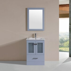 Lapoint 24 Single Modern Bathroom Vanity Set