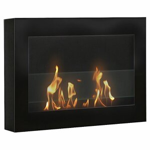SoHo Wall Mount Bio-Ethanol Fireplace by Anywhere Fireplace