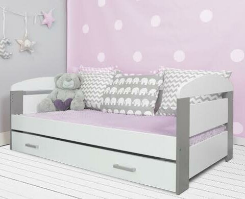m bel concept kinderbett alice mit schublade und matratze. Black Bedroom Furniture Sets. Home Design Ideas