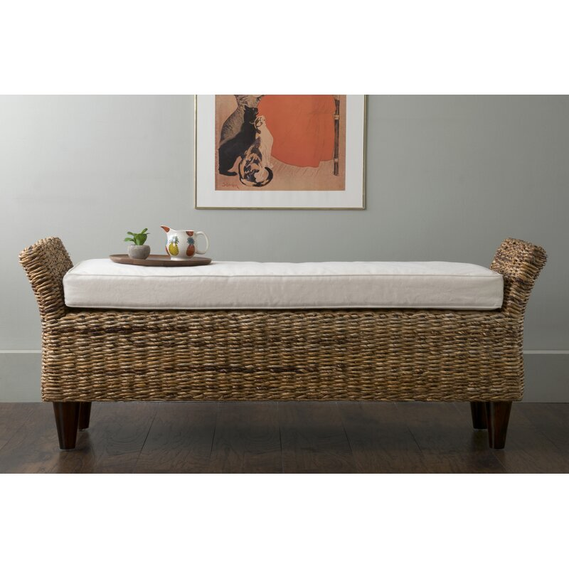 Beachcrest Home Pinedale Abaca Bench Reviews