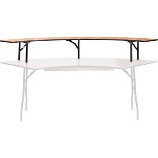 60u0027u0027 Semi Circle Folding Table