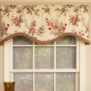 cornice valance window treatments wall to wall branching out cornice 50 curtain valance wayfair