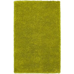 Hand-Tufted Light Green Area Rug